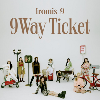 fromis_9 – 9 Way Ticket (Single) | ♥ Bubble Days...